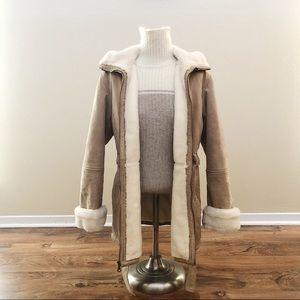 Wilsons Leather Light Beige Coat